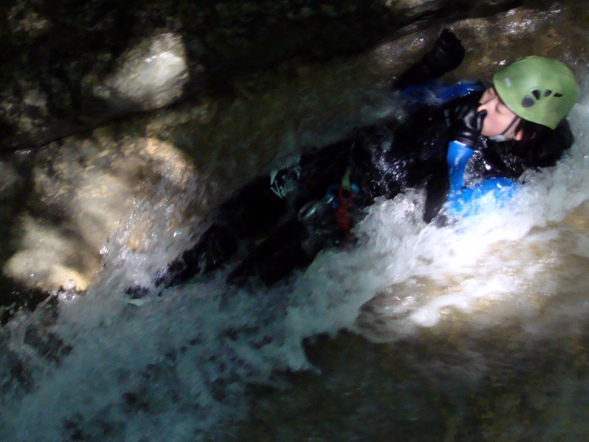 Canyoning Dans Le Bugey - Le Gouffre Du Groin